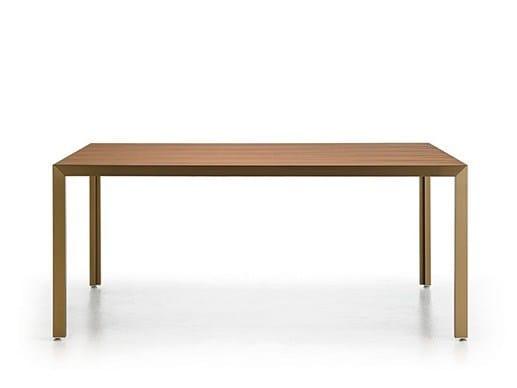 Rectangular oak table DENIA by Punt