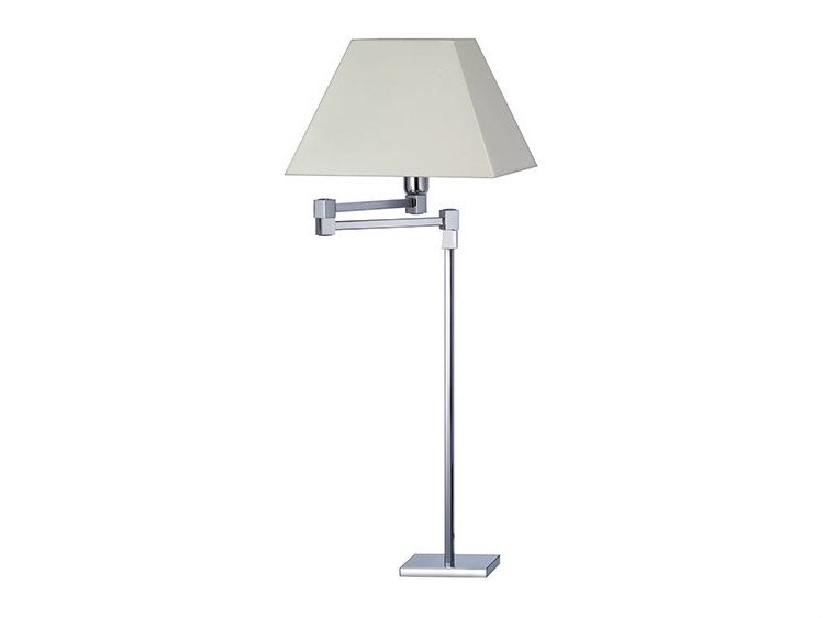 Halogen canvas desk lamp DENISE 24-30 - Quicklighting