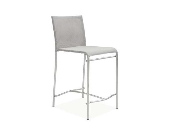Plastic chair with footrest DENISE | Chair by CREO Kitchens