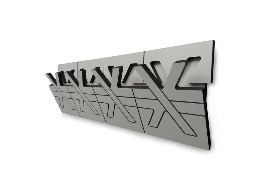 Wall-mounted HPL coat rack DERO by rosconi