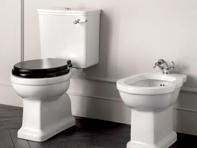Close coupled ceramic toilet DESDEMONA | Close coupled toilet - BATH&BATH
