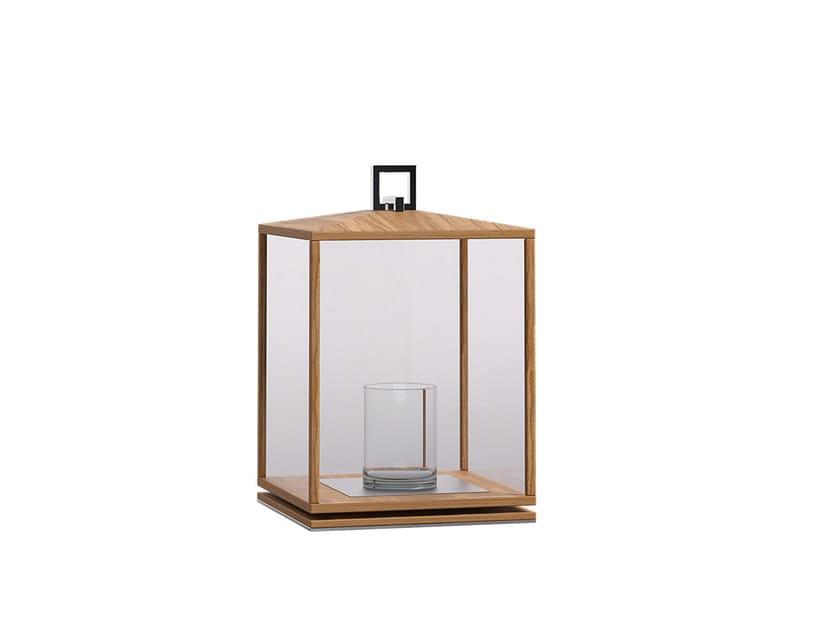 Teak lantern DESERT | Lantern - Atmosphera