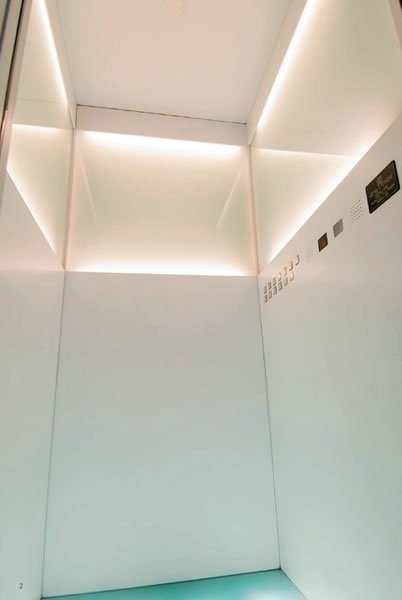 Custom lift for public buildings DESIGNER - GRUPPO MILLEPIANI