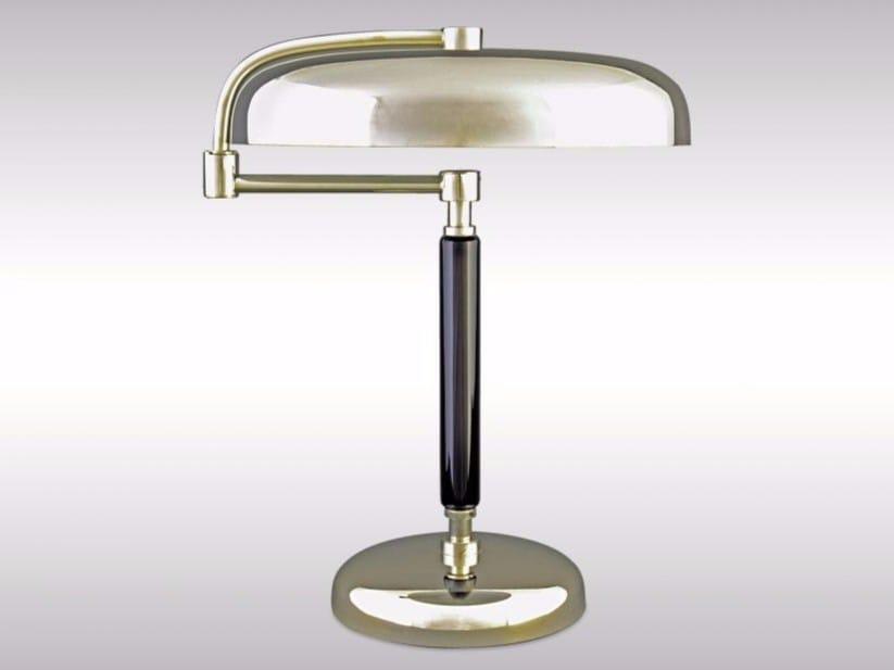 Swivel adjustable brass table lamp DESNY - Woka Lamps Vienna