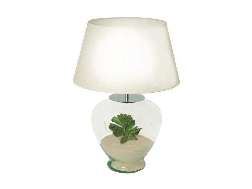 Glass table lamp DESSERT by Aromas del Campo