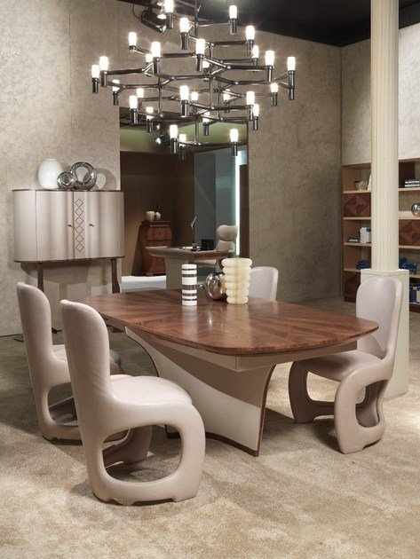 Wooden living room table DESYO | Table - Carpanelli Contemporary