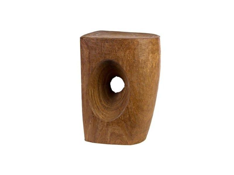 Wooden stool DEVIL'S EYE | Wooden stool - Pols Potten