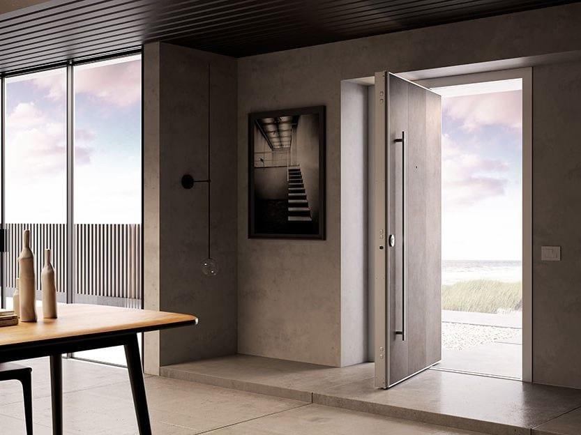 Porta d 39 ingresso a bilico blindata di big dibi porte - Porta ingresso blindata ...