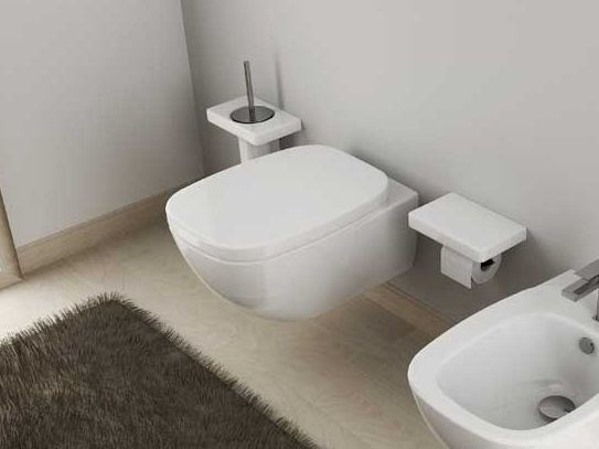 Ceramic toilet DIAL | Wall-hung toilet - Hidra Ceramica