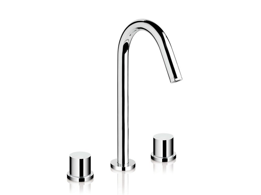 3 hole countertop washbasin mixer DIAMETROTRENTACINQUE | 3 hole washbasin mixer - RUBINETTERIE RITMONIO