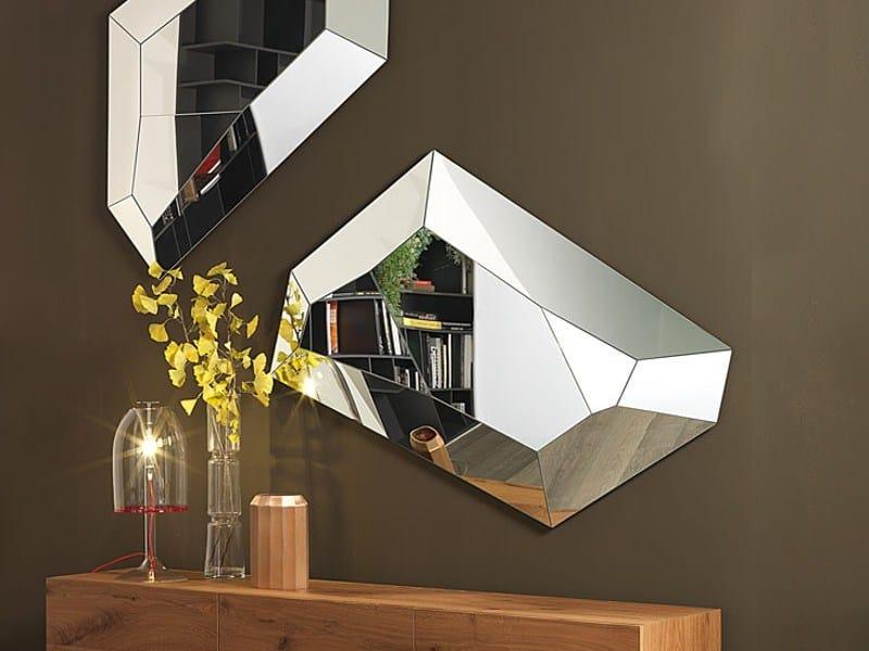 Wall-mounted mirror DIAMOND - Cattelan Italia