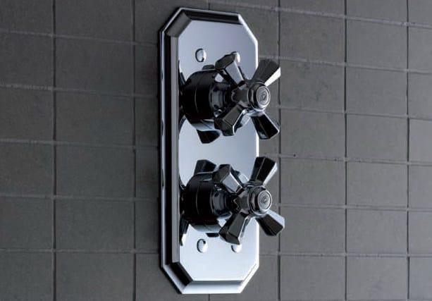 2 hole thermostatic shower mixer DIAMOND | Thermostatic shower mixer - Signorini Rubinetterie