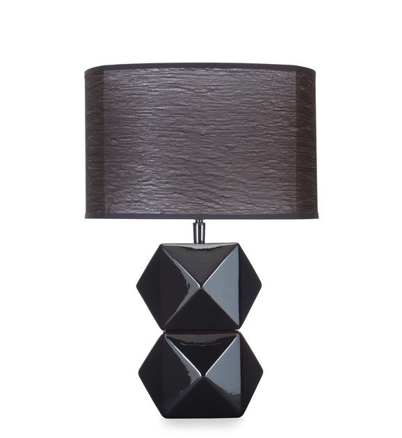 Contemporary style wooden table lamp DIAMS BL by ENVY