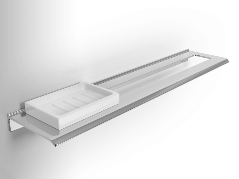 Aluminium soap dish / towel rack DIANTHA | Towel rack - Alna