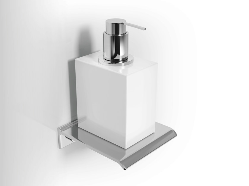 Wall-mounted ceramic liquid soap dispenser DIANTHA | Liquid soap dispenser by Alna