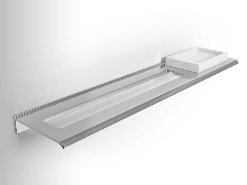 Aluminium soap dish / towel rack DIANTHA | Towel rail - Alna