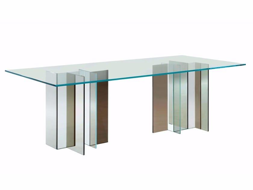 rechteckiger esstisch aus glas – dogmatise, Esstisch ideennn