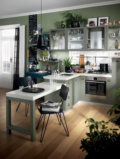 Cucina componibile diesel social kitchen scavolini - Cucina diesel scavolini ...