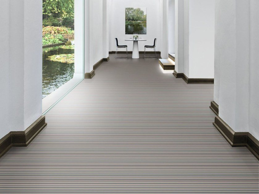 Ecological continuous flooring DIGITAL CODE - Vorwerk & Co. Teppichwerke