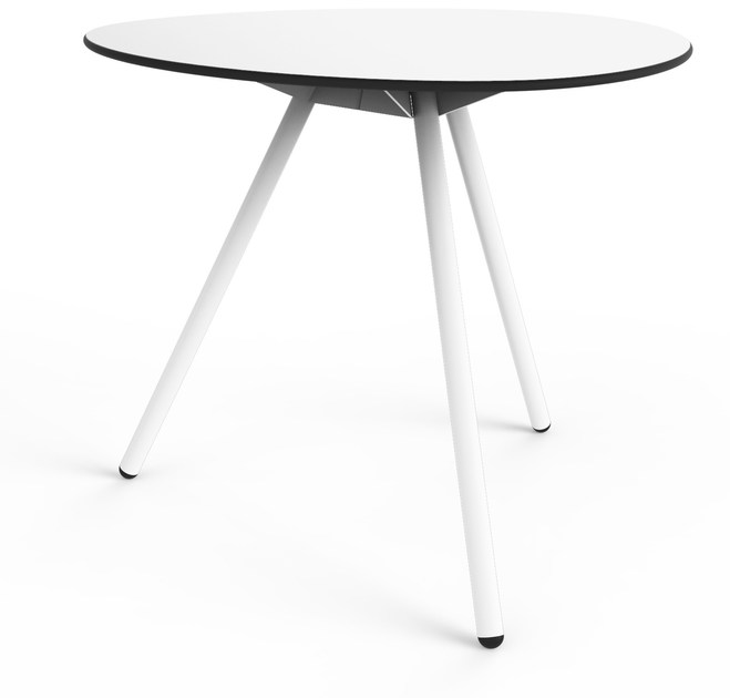 Round garden table DINE A-LOWHA by Lonc