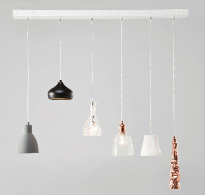 Contemporary style pendant lamp DINING 6-LITE - KARE-DESIGN