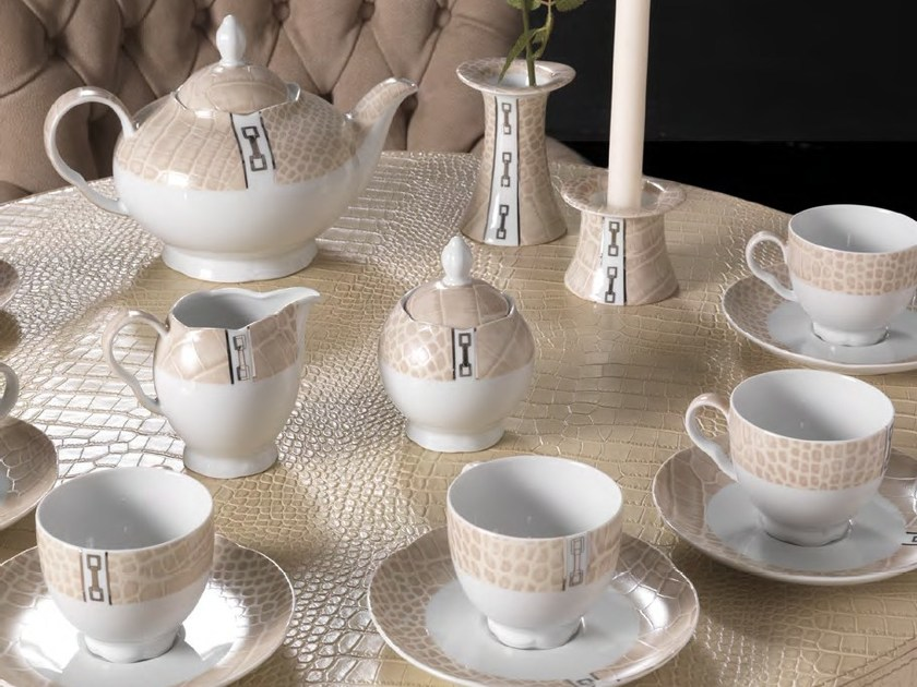 Porcelain coffee set DINING A'ROUND | Coffee set - Formitalia Group
