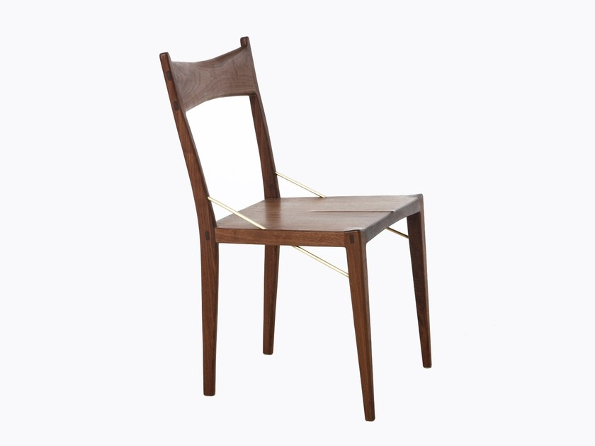 Solid wood chair DINING CHAIR II by AGUSTAV