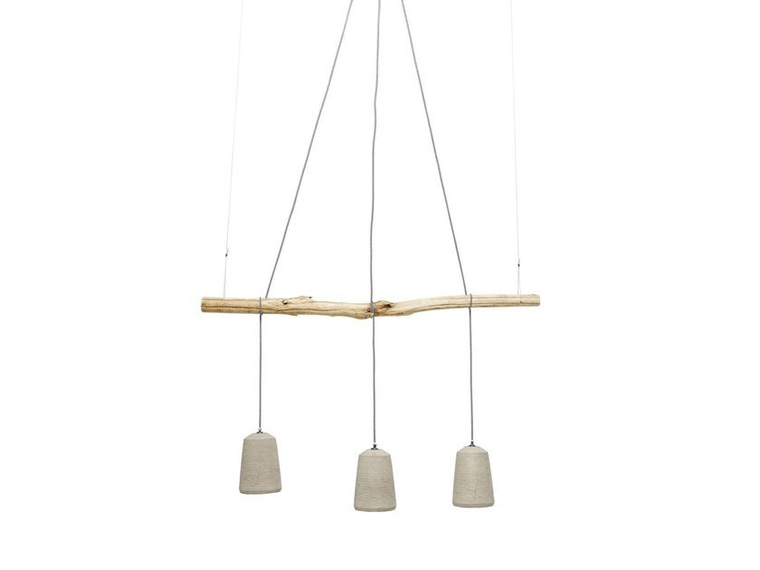 Concrete pendant lamp DINING CONCRETE by KARE-DESIGN