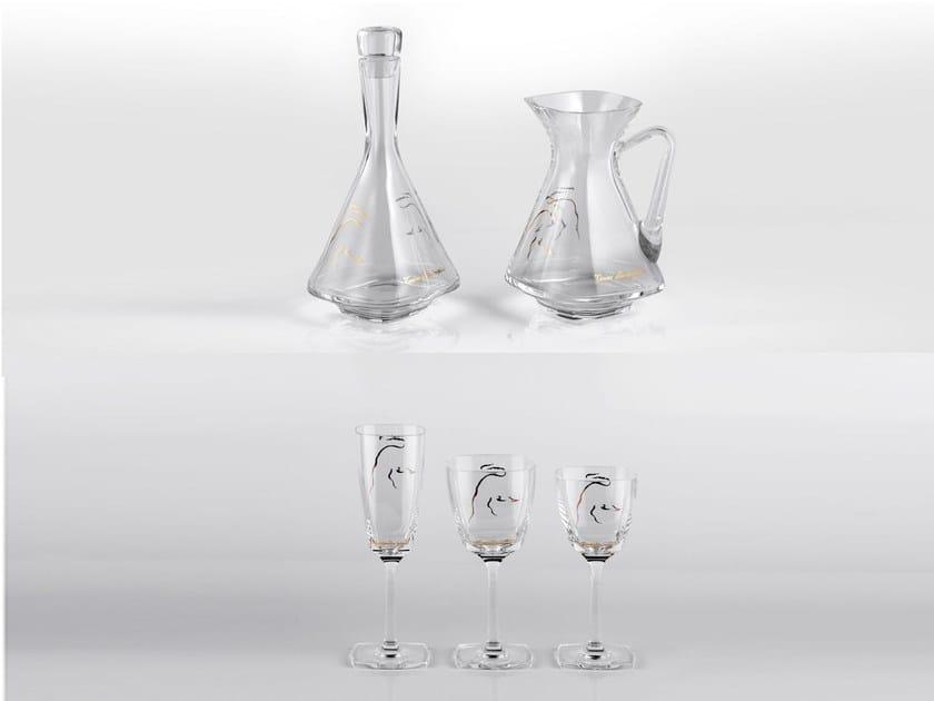 Set bicchieri in cristallo CRYSTAL | Set bicchieri - Tonino Lamborghini Casa by Formitalia Group