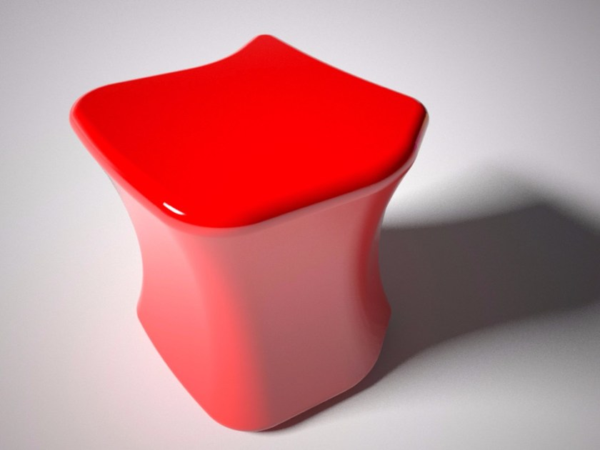 Low Adamantx® stool DIRIMO - ZAD ITALY