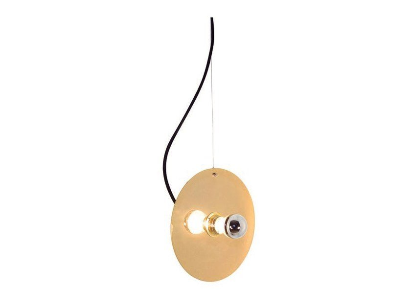 Direct light metal pendant lamp DISCO 2 - Aromas del Campo