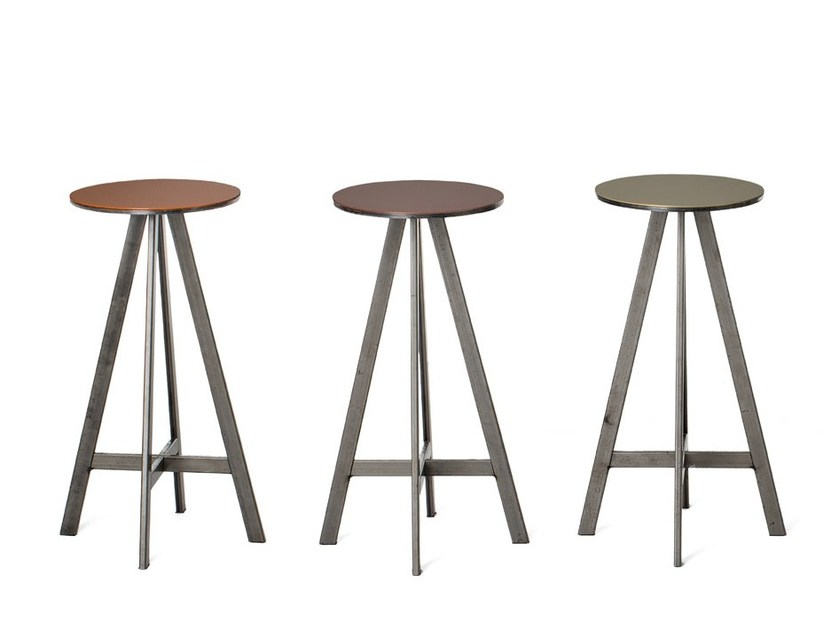 Plate stool DISCO | Stool - Officine Tamborrino