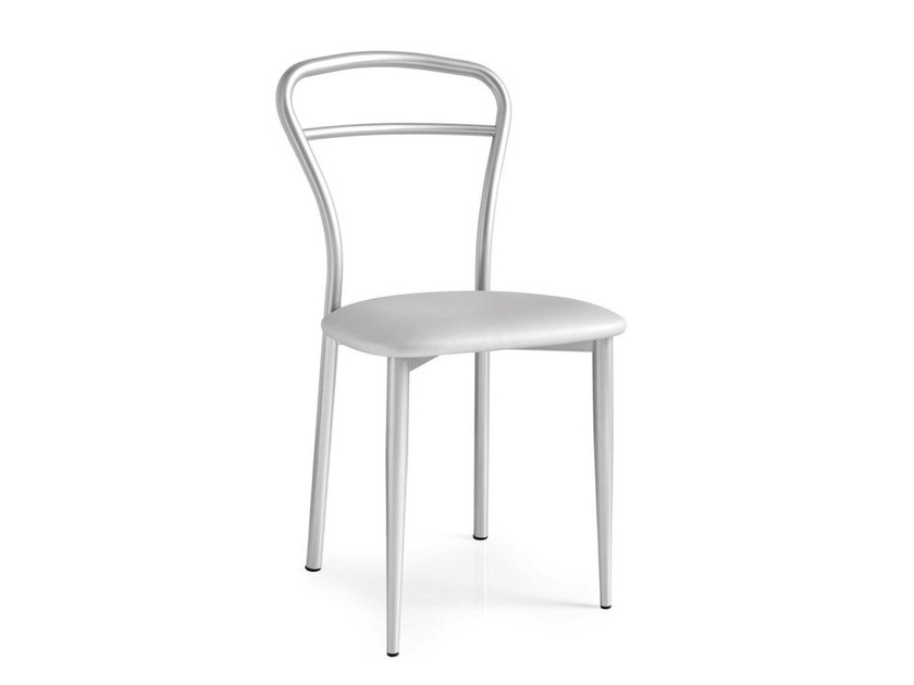 Open back chair DIVA | Metal chair - Calligaris