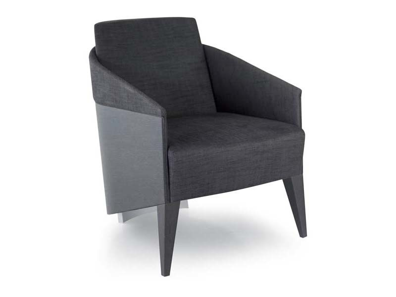 Armchair with armrests DIVA | Armchair - Potocco