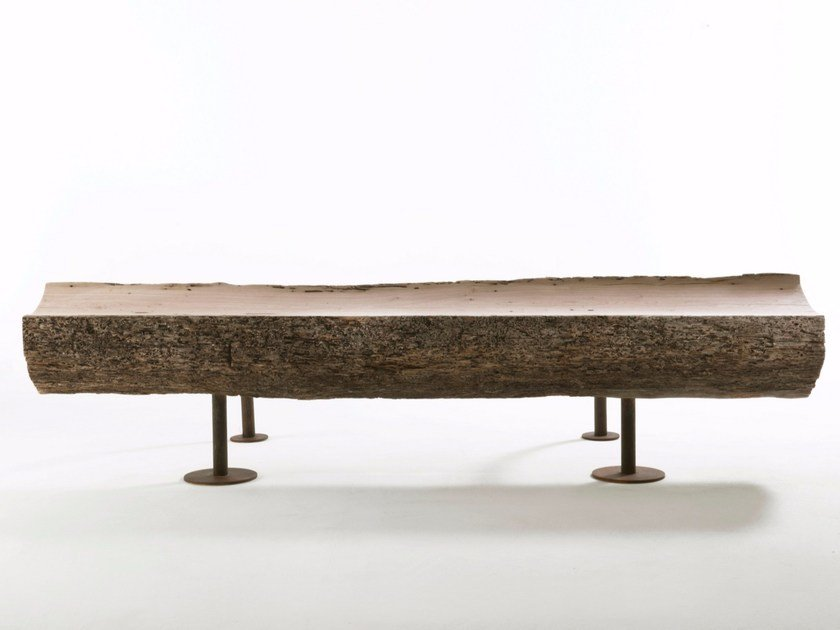 Wooden bench DIVAN - Riva 1920