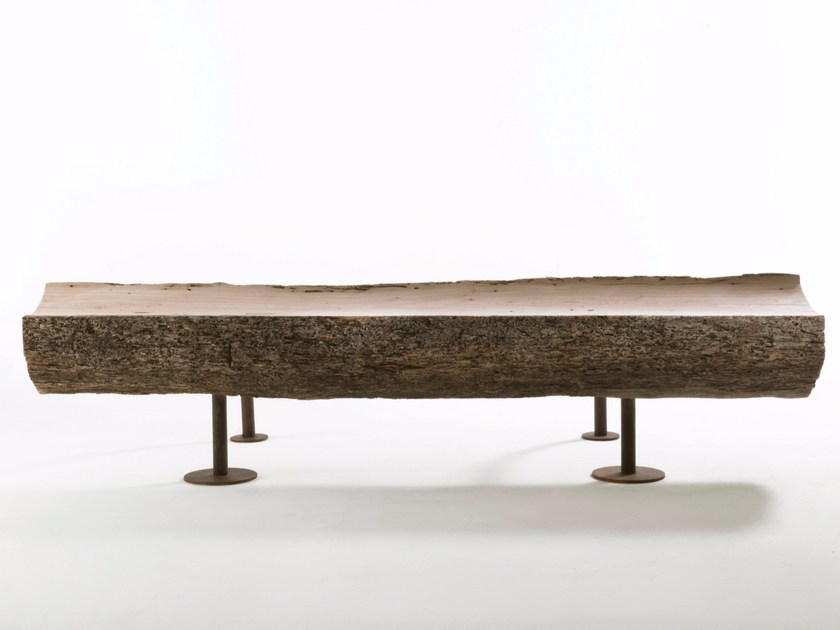 Wooden bench DIVAN by Riva 1920