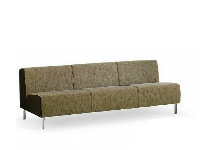 3 seater fabric sofa SMOOTH | 3 seater sofa by ISD