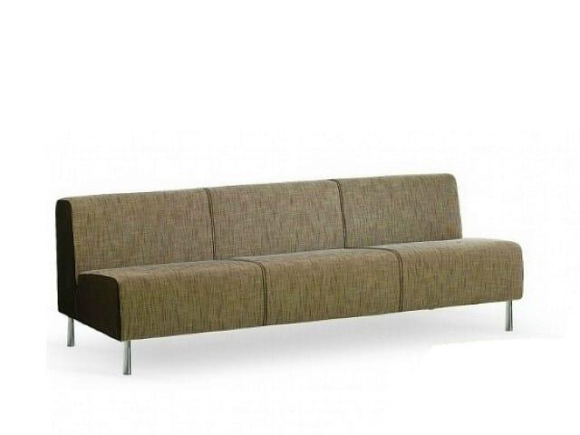 3 seater fabric sofa SMOOTH | 3 seater sofa - ISD