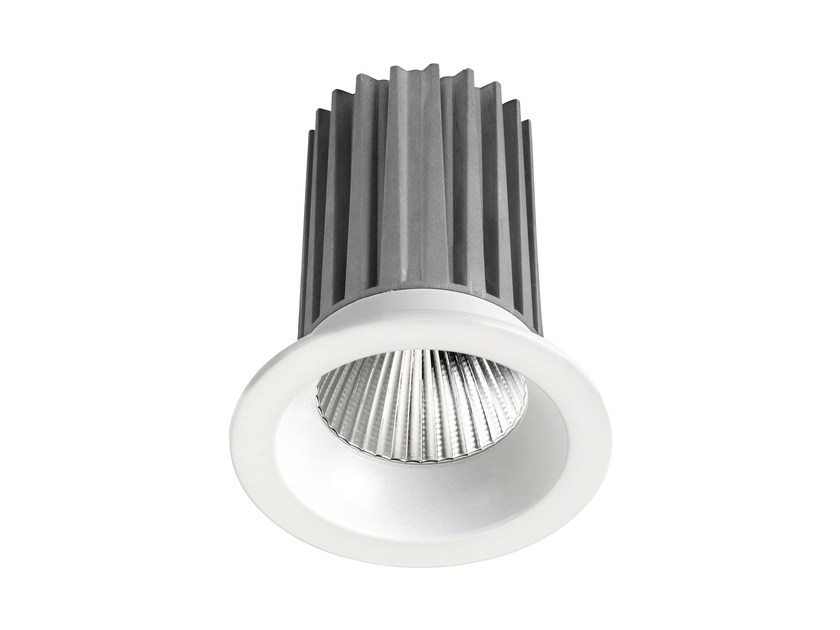 LED round recessed aluminium spotlight DLR 9W - LED BCN Lighting Solutions