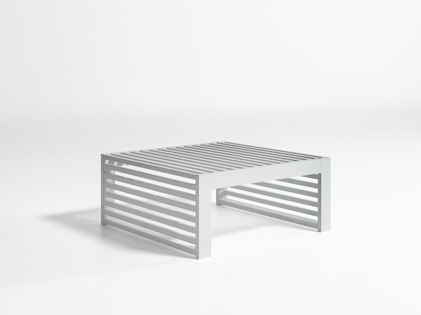 Aluminium garden side table DNA | Coffee table - GANDIA BLASCO