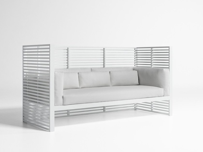 3 seater high-back fabric sofa DNA | High-back sofa by GANDIA BLASCO