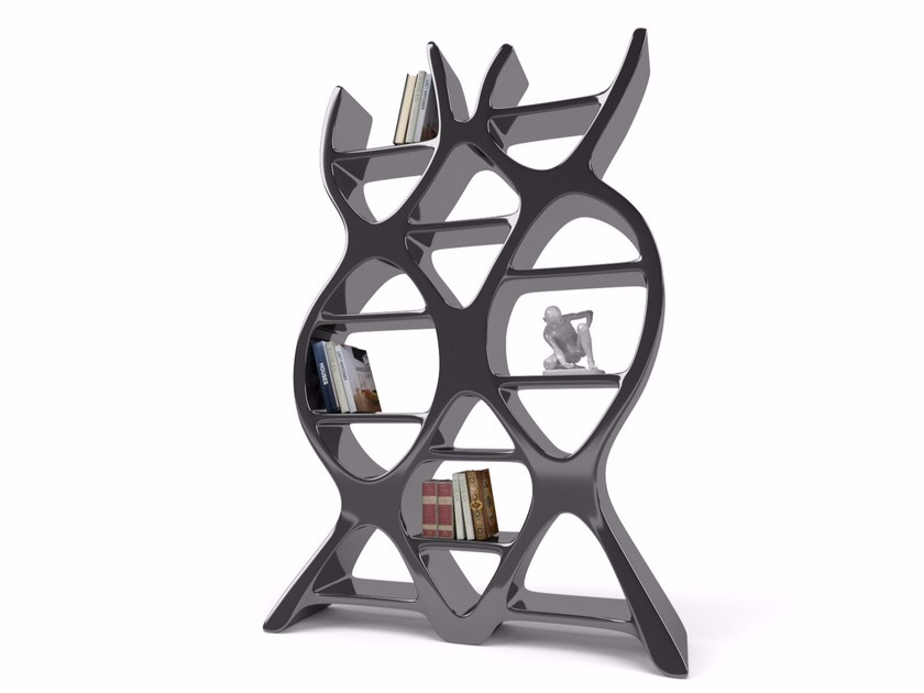 Open double-sided Adamantx® bookcase DNA - ZAD ITALY