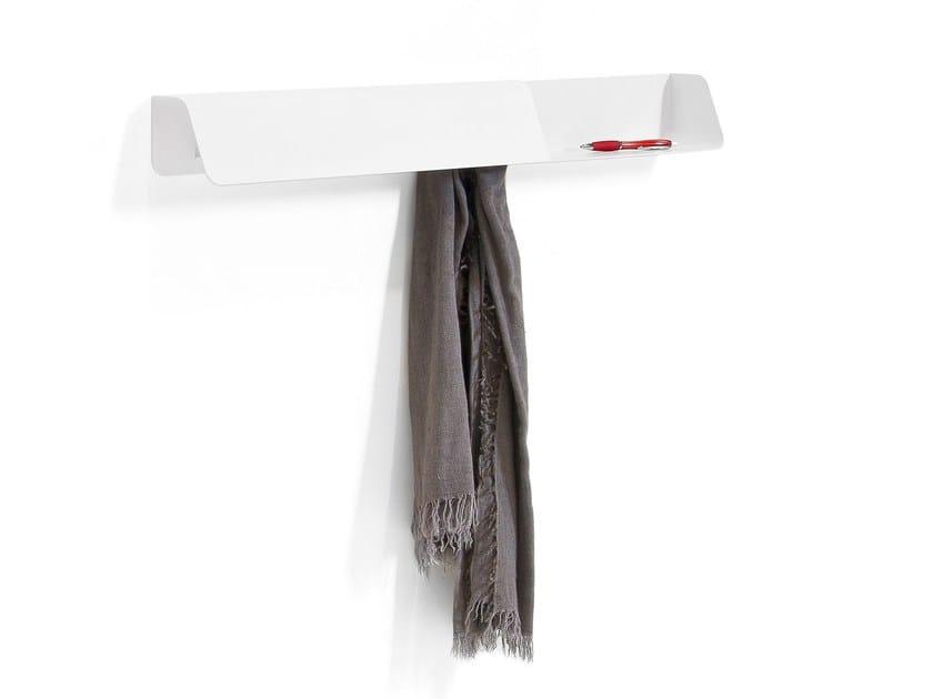 Steel coat rack / wall shelf DOCK - B-LINE