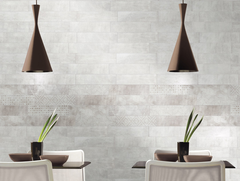 Glazed stoneware wall tiles DOCKLANDS | Wall tiles - CIR