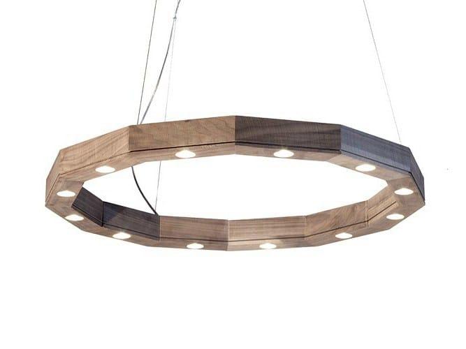 LED pendant lamp with dimmer DODICI - Produzione Privata