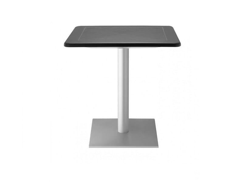 Square polypropylene garden table DODO   Garden table - SCAB DESIGN