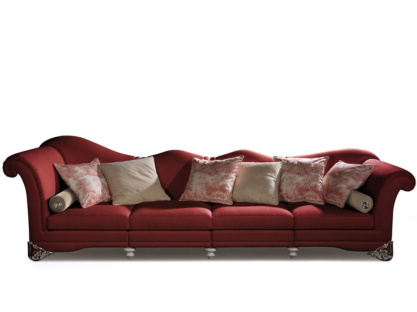 4 seater fabric sofa DOGE by ELLEDUE ARREDAMENTI