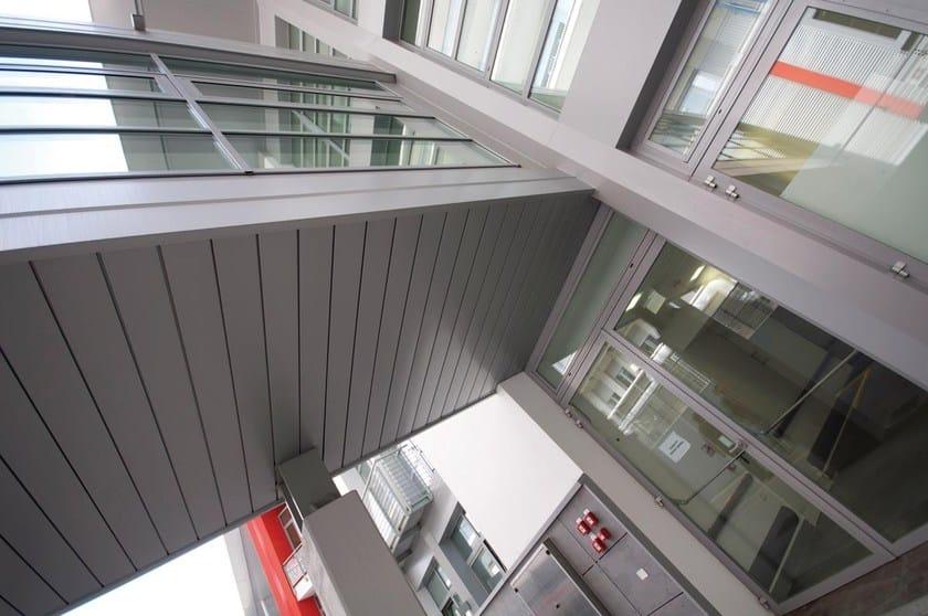 Aluminium Panel for facade DOGHE LINEAR | Aluminium Panel for facade - ATENA