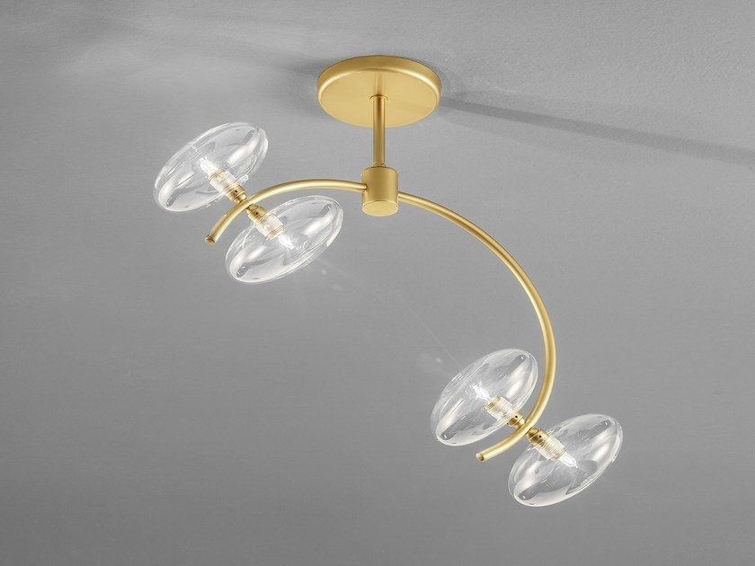 Metal ceiling lamp DOLCE L 50 by Metal Lux