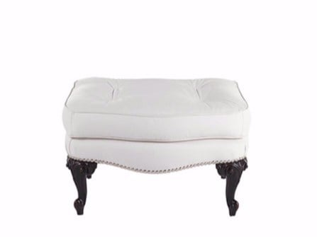 Leather footstool DOLLY | Footstool - Gianfranco Ferré Home